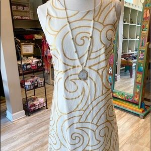 NWT Julie Brown NYC Ivory Florio dress. Size 0 & 2